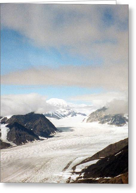 Alaskan Glacier Greeting Card