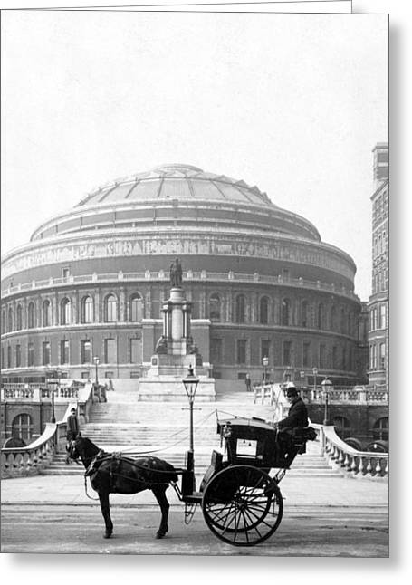Albert Hall In London - England - C 1904 Greeting Card by International  Images