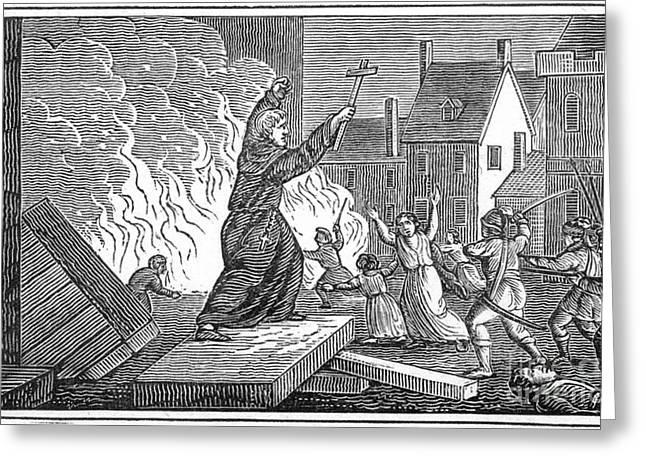 Albigensian Crusade, 1209 Greeting Card