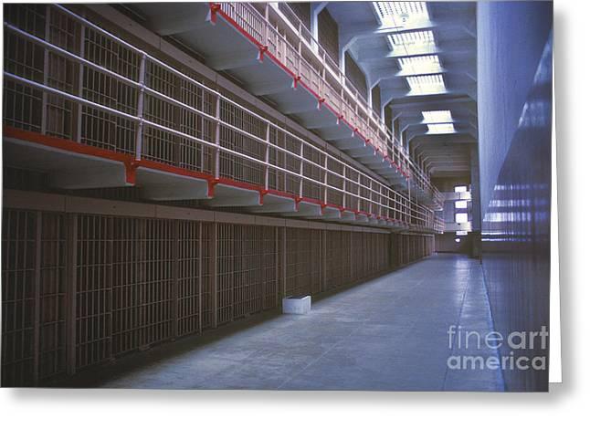 Alcatraz Awaits Greeting Card