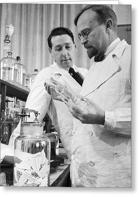 Aleksandr Oparin, Russian Biochemist Greeting Card