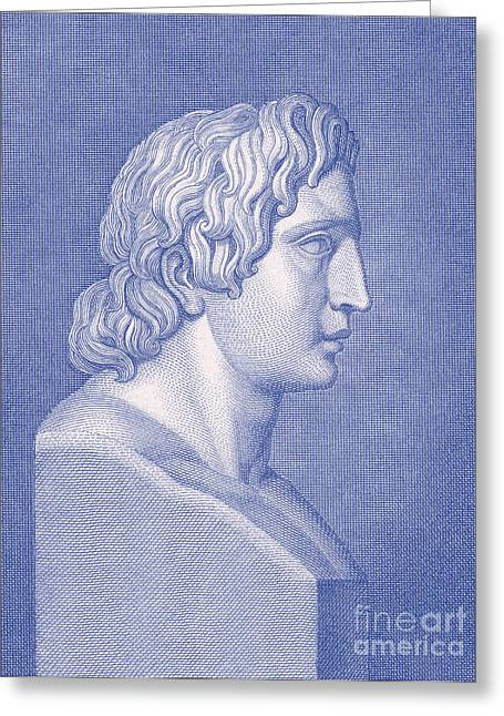 Alexander The Great, Greek King Greeting Card