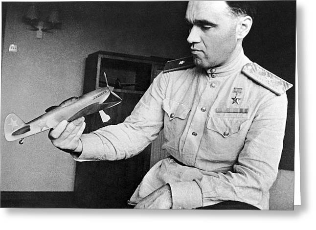 Alexander Yakovlev, Aircraft Designer Greeting Card