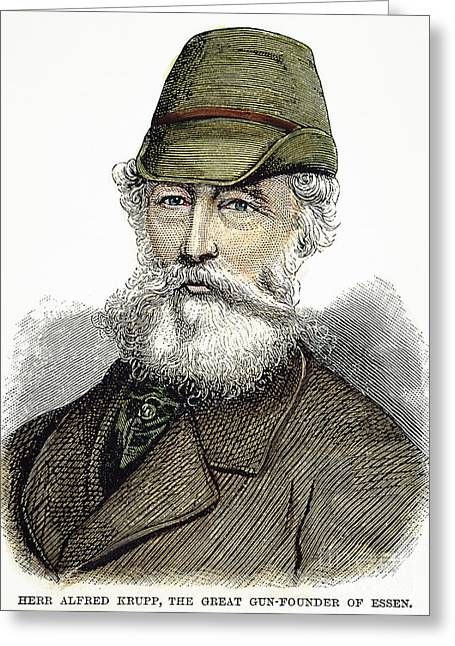 Alfred Krupp (1812-1887) Greeting Card by Granger