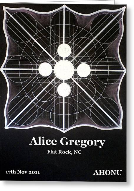 Alice Gregory Greeting Card