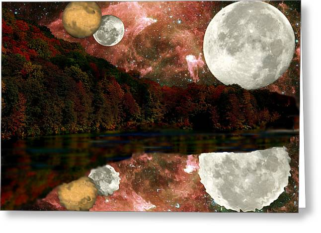 Greeting Card featuring the photograph Alien World by Sarah McKoy