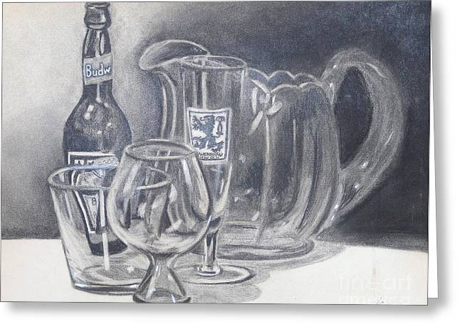 All Gone Greeting Card by Rod Ismay