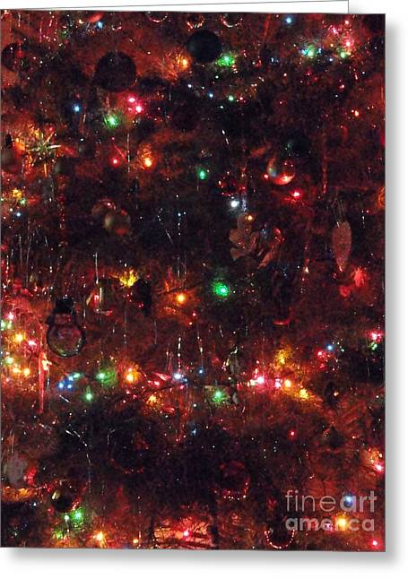 All Lite Up And Decked Out Two Greeting Card by Daniel Henning