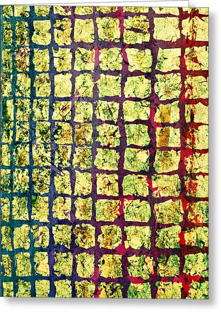 All That Glitters 1 Greeting Card by Rita Bentley