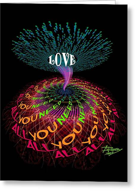 All You Need Is Love B1 Greeting Card