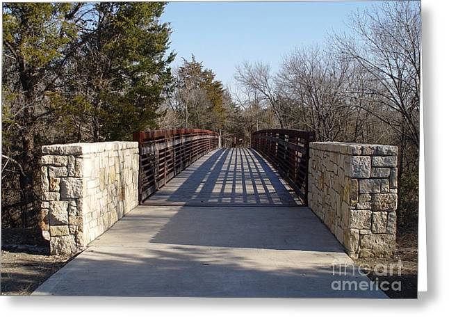 Allen Station Bridge Greeting Card