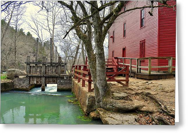Greeting Card featuring the photograph Alley Spring Mill 34 by Marty Koch
