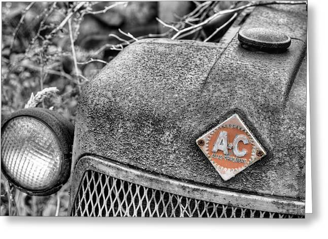 Allis Chalmers Greeting Card