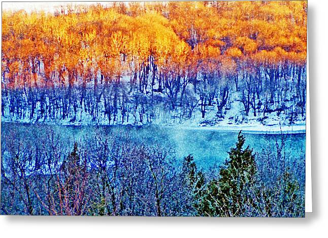 Along The Susquehanna Greeting Card by See Me Beautiful Photography