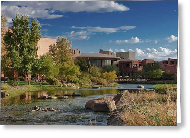 Along The Wild Horse River Greeting Card by Jim Moore