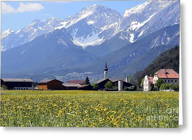 Alpine Mood Greeting Card