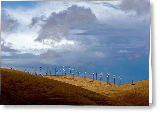 Altamont Pass California Greeting Card