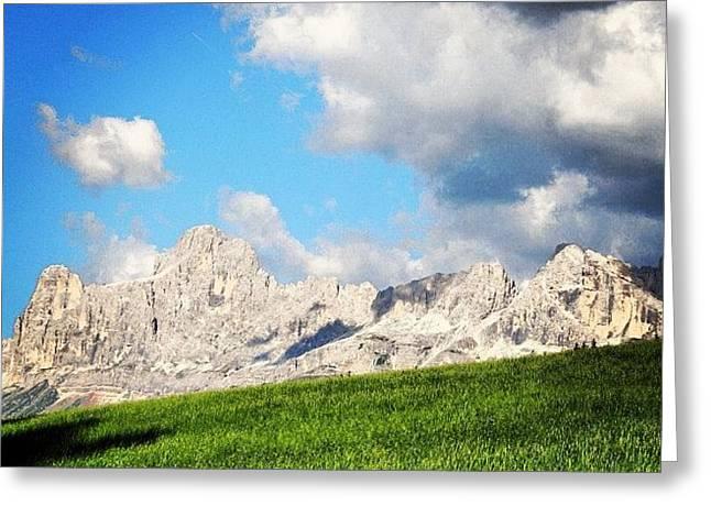 Always Dolomites Greeting Card