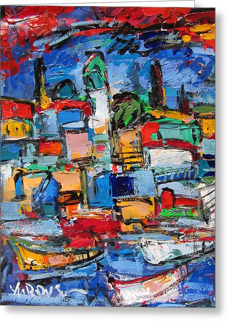 Amalfi 64 Greeting Card