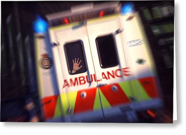 Ambulant Greeting Card