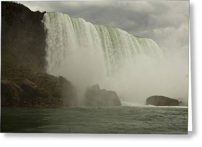 Greeting Card featuring the photograph American Falls by Darleen Stry