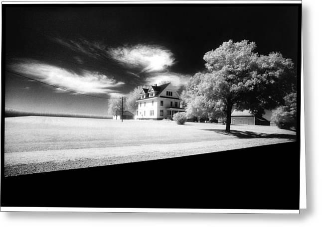 American Landscape Greeting Card by Greg Kopriva
