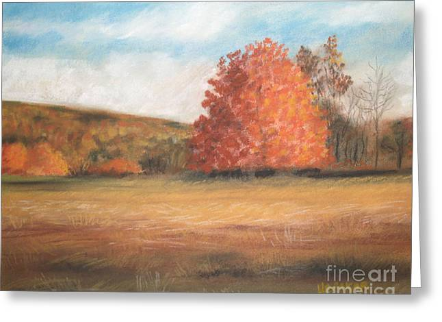Amid The Tranquil Presence Of Change Greeting Card by Lisa Urankar
