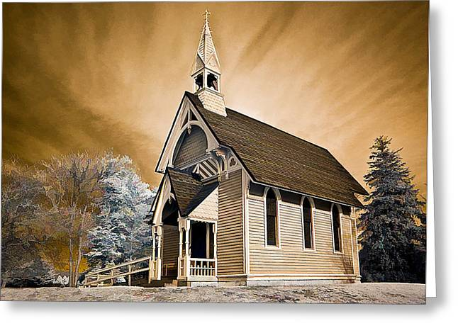Amityville Chapel Greeting Card