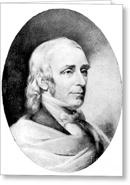 Amos Bronson Alcott, American Educator Greeting Card by Photo Researchers