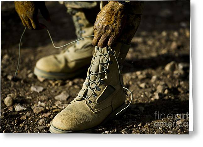 An Air Force Basic Military Training Greeting Card by Stocktrek Images