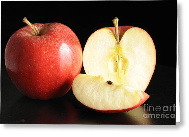 An Apple A Day... Greeting Card by Nancy Greenland