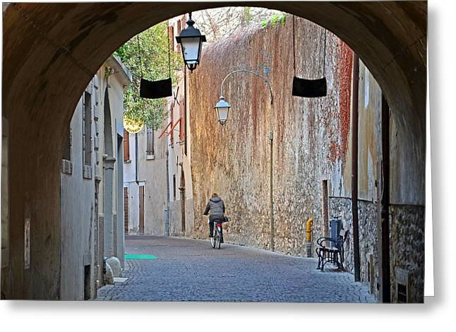 An Arch In Arco Greeting Card