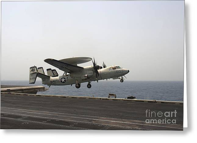 An E-2c Hawkeye Takes Greeting Card by Stocktrek Images