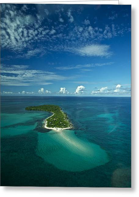 An Island In The Quirimbas Archipelago Greeting Card by Jad Davenport