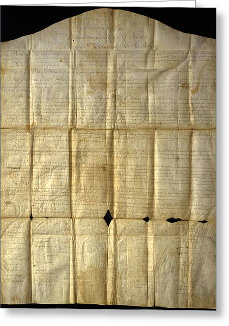 An Original Copy Of The Canandaigua Greeting Card by Joseph D. Lavenburg