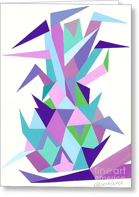 Ananas No.4 Greeting Card by Roswitha Schmuecker