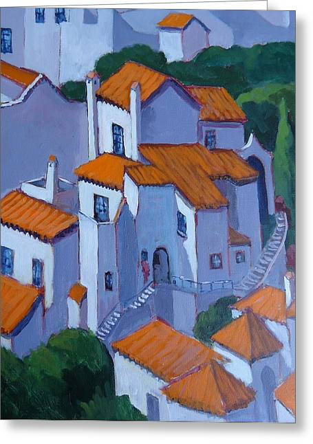 Andalucia Spain Greeting Card by Edward Abela