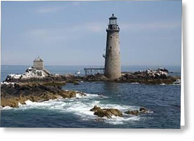 Anderson Family Lighthouse #2 Greeting Card by Robert Anderson