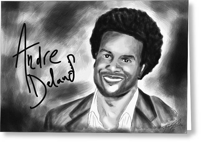 Andre Delano Greeting Card by Kenal Louis