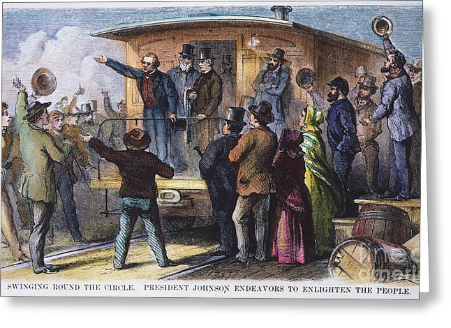 Andrew Johnson (1866): Greeting Card