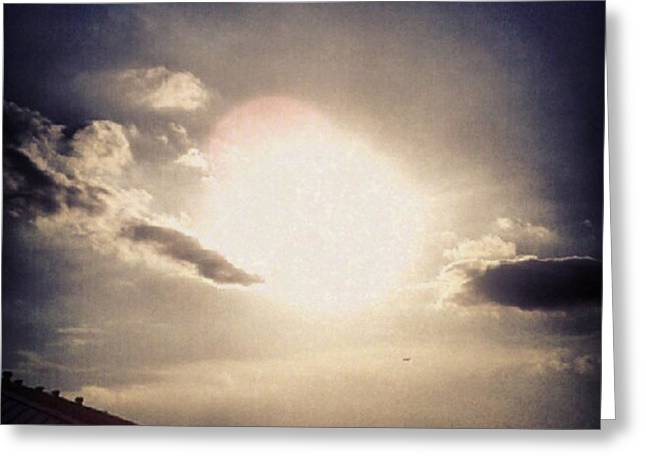 #andrography #nexuss #random #sun Greeting Card by Kel Hill