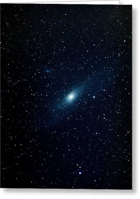 Andromeda Galaxy (m31, Ngc 224) Greeting Card