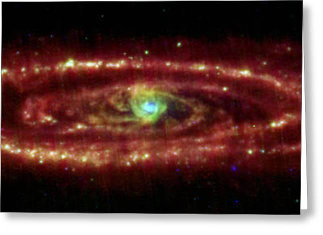 Andromeda Galaxy Greeting Card by Nasa