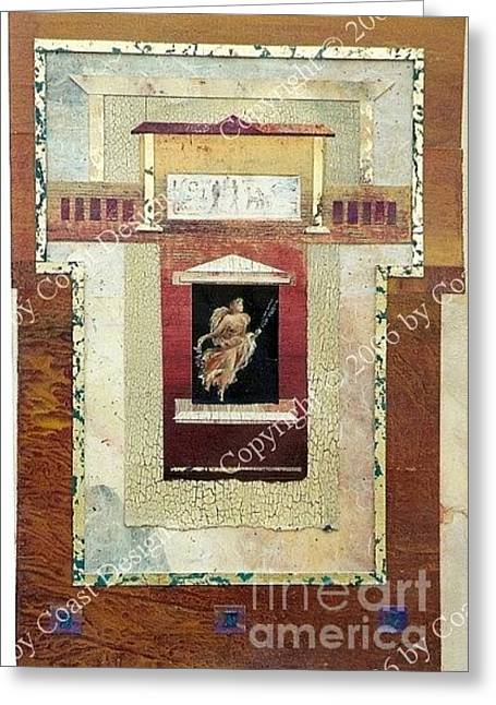 Angel Collage Greeting Card