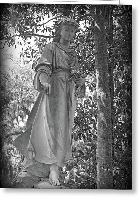 Angel Iv Greeting Card by Suzanne Gaff