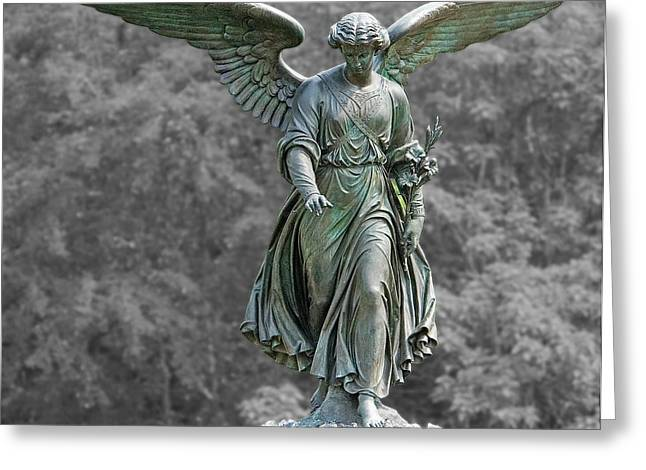 Angel Of The Waters Poster Greeting Card