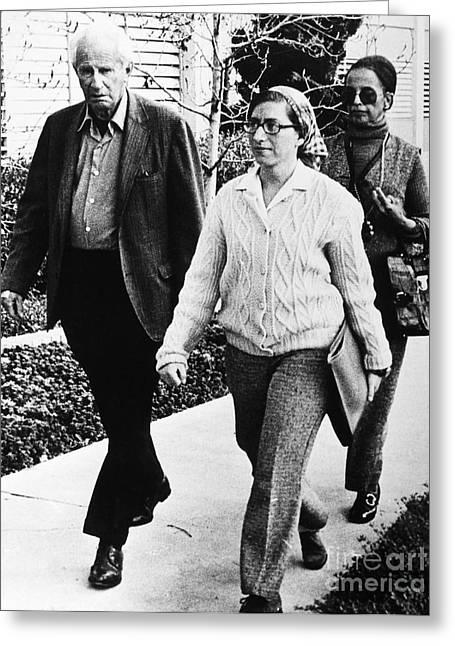 Angela Davis Trial, 1972 Greeting Card by Granger