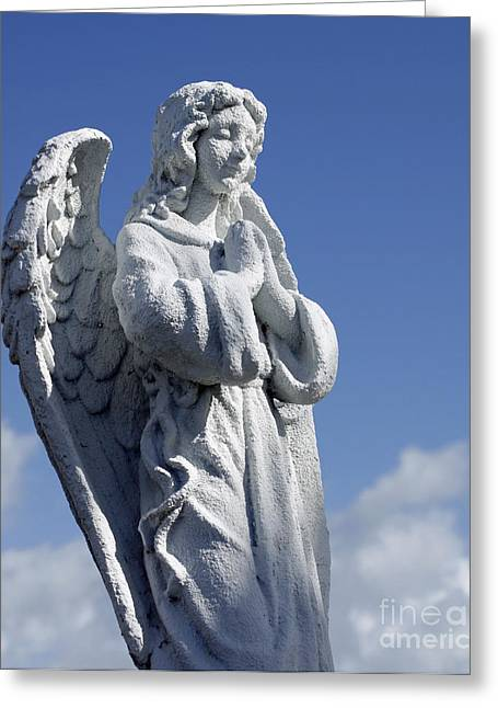 Angelic Greeting Card by Denise Pohl