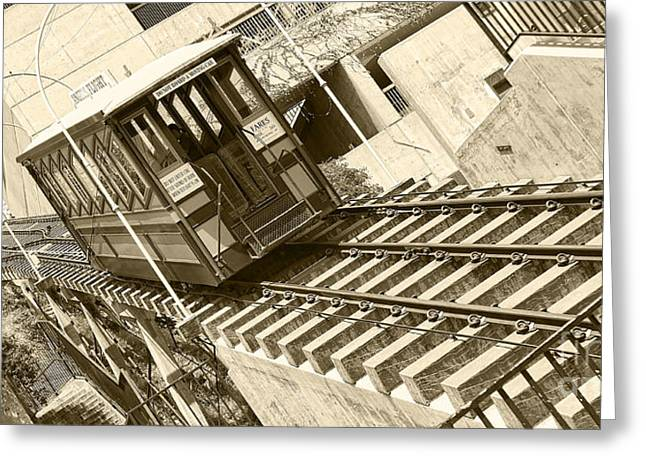 Angels Flight Greeting Card by Jason Abando