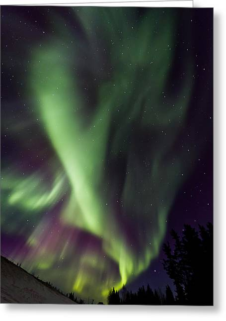 Anhcor To The World Greeting Card by Maik Tondeur